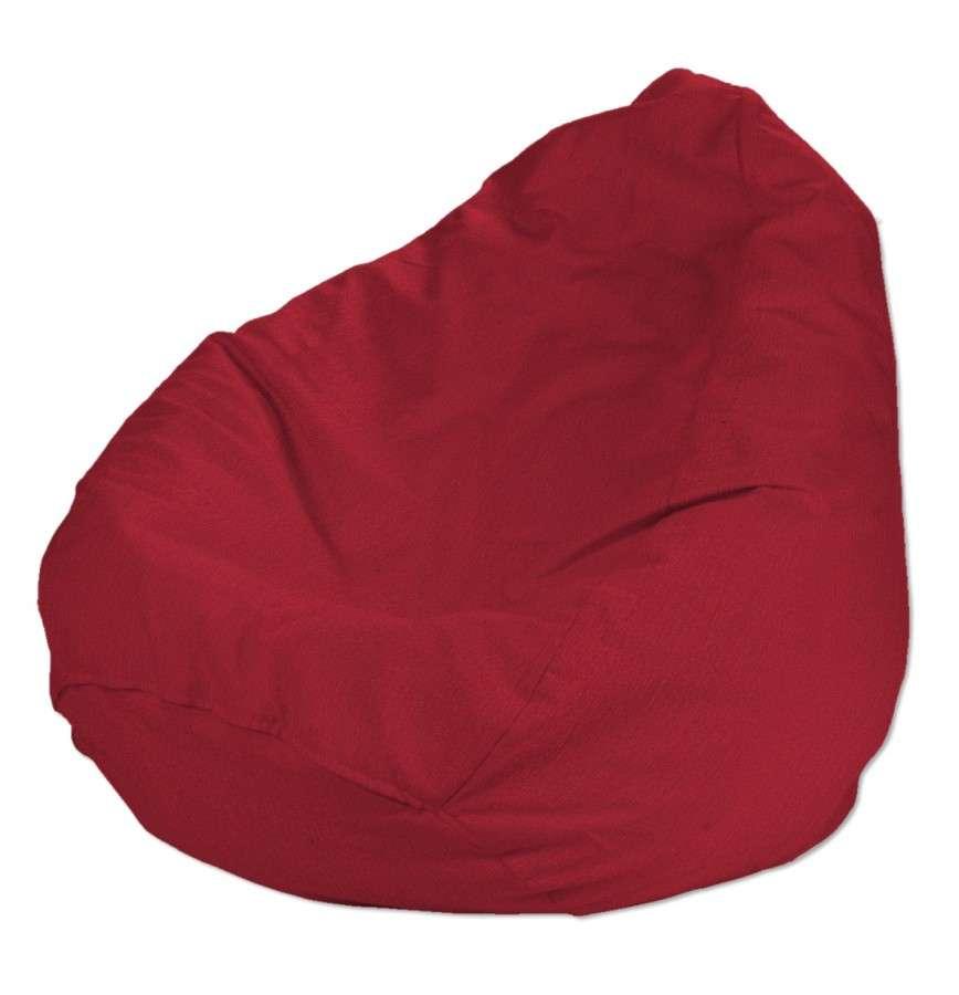 Pokrowiec na worek do siedzenia pokrowiec Ø50x85cm w kolekcji Chenille, tkanina: 702-24