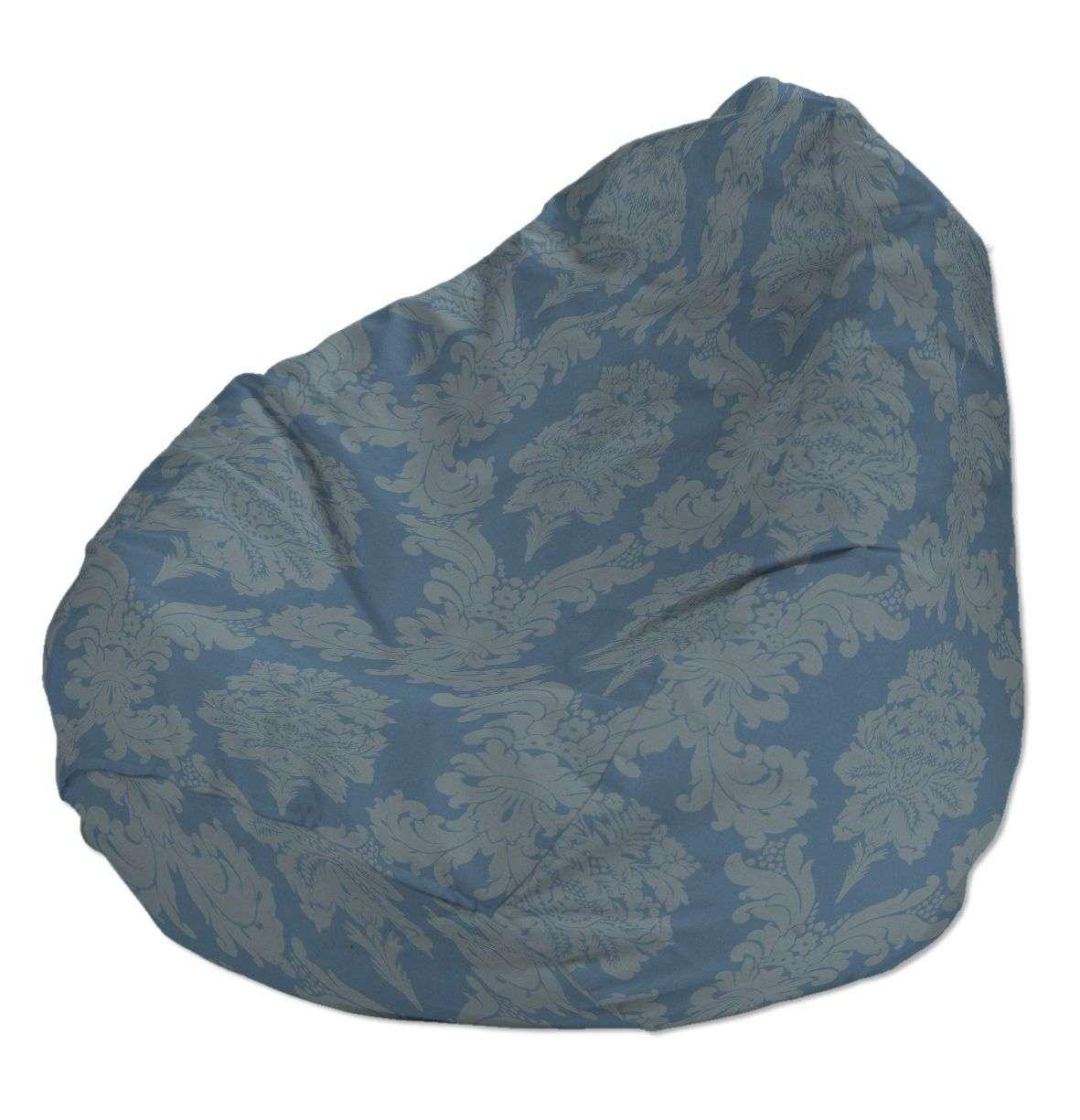 Sėdmaišio užvalkalas  Ø60x105 cm sėdmaišiui kolekcijoje Damasco, audinys: 613-67