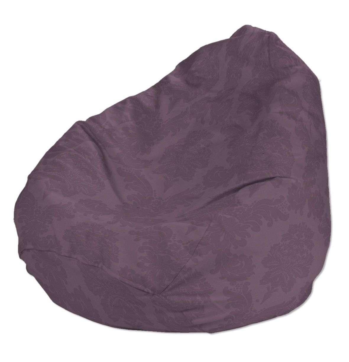 Pokrowiec na worek do siedzenia pokrowiec Ø50x85cm w kolekcji Damasco, tkanina: 613-75