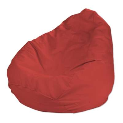 Poťah na sedací vak bez výplne 133-43 červená Kolekcia Loneta