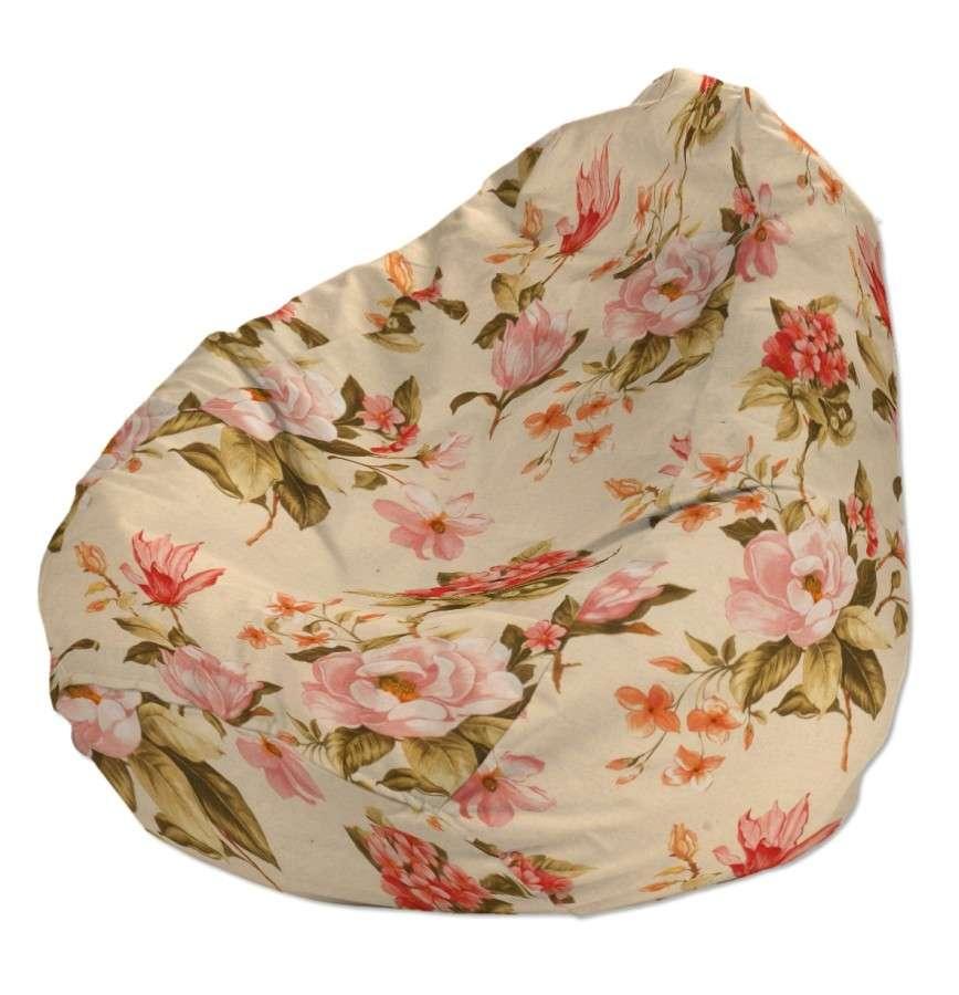 Pokrowiec na worek do siedzenia pokrowiec Ø50x85cm w kolekcji Londres, tkanina: 123-05