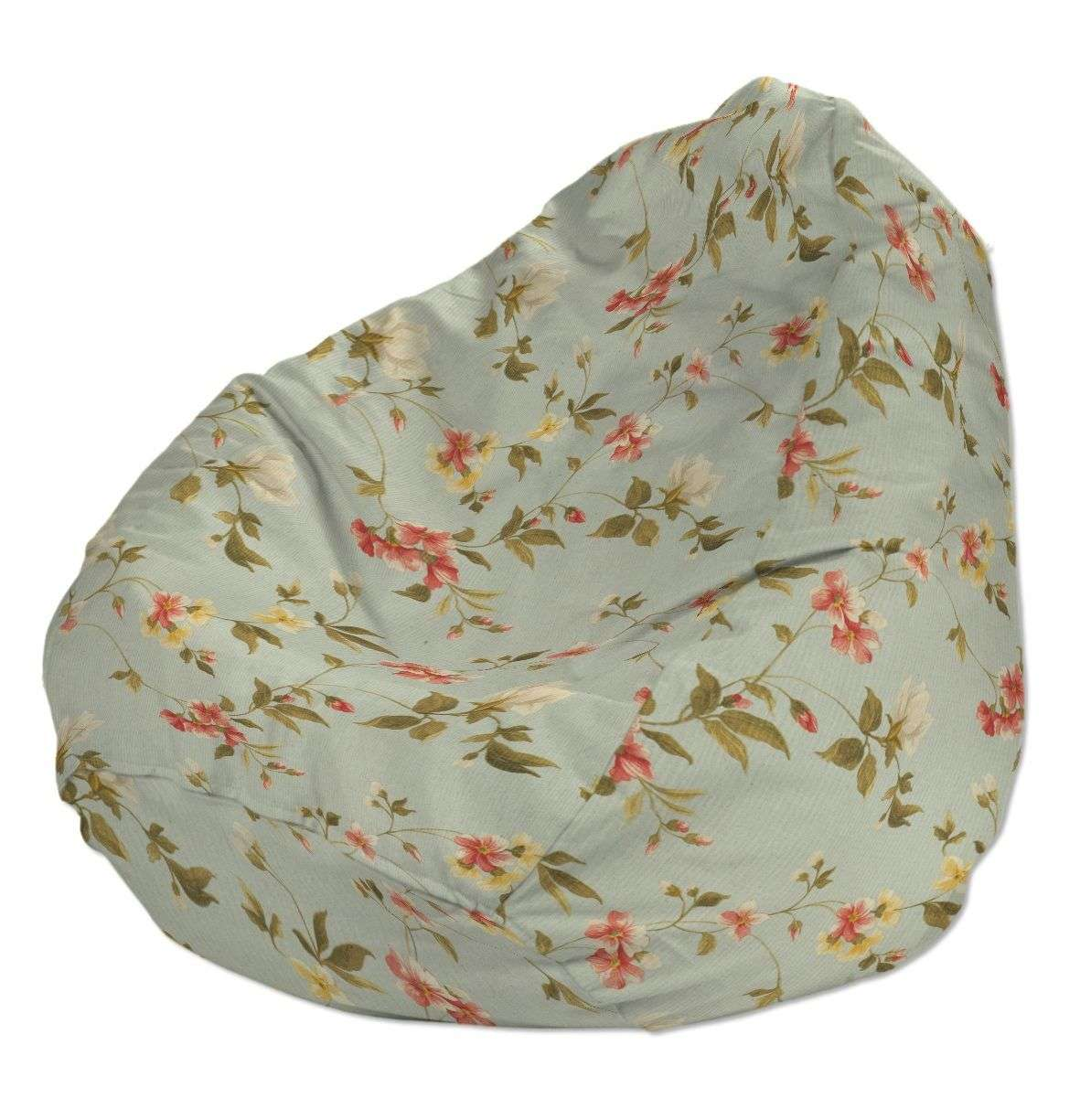 Pokrowiec na worek do siedzenia pokrowiec Ø50x85cm w kolekcji Londres, tkanina: 124-65