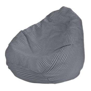 Pokrowiec na worek do siedzenia pokrowiec Ø50x85cm w kolekcji Quadro, tkanina: 136-00