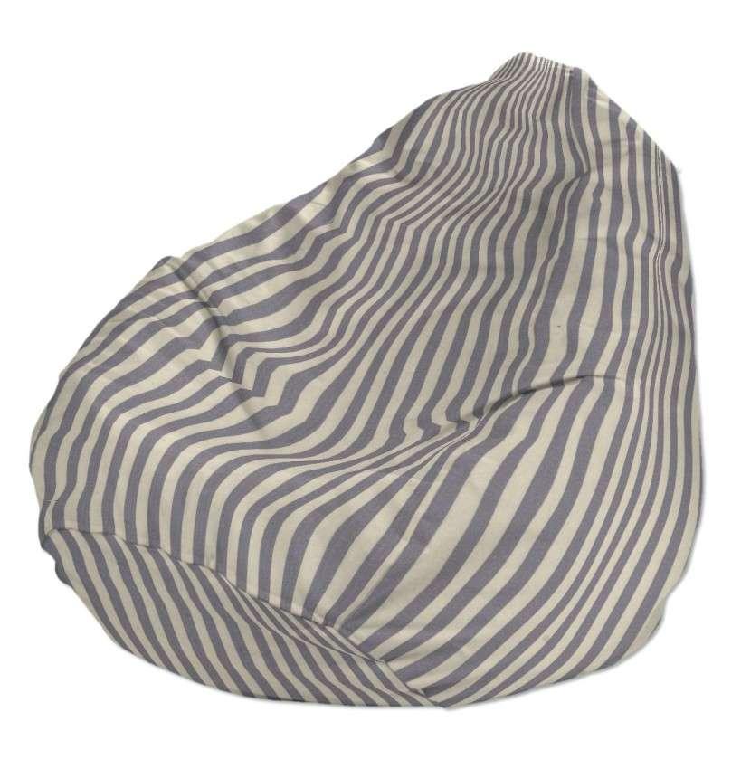 Sėdmaišio užvalkalas  Ø60x105 cm sėdmaišis kolekcijoje Quadro, audinys: 136-02