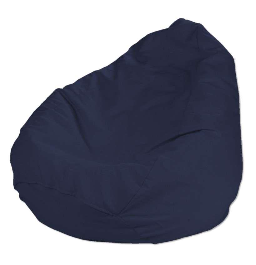 Pokrowiec na worek do siedzenia pokrowiec Ø50x85cm w kolekcji Quadro, tkanina: 136-04