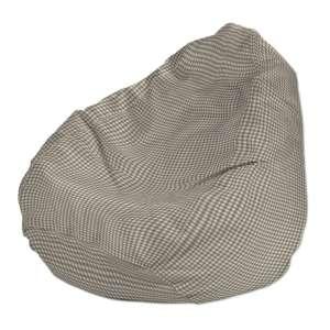 Pokrowiec na worek do siedzenia pokrowiec Ø50x85cm w kolekcji Quadro, tkanina: 136-05