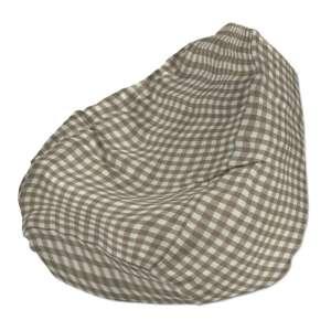 Sėdmaišio užvalkalas  Ø60x105 cm sėdmaišiui kolekcijoje Quadro, audinys: 136-06