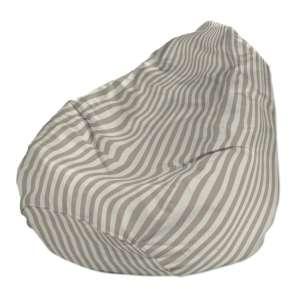 Pokrowiec na worek do siedzenia pokrowiec Ø50x85cm w kolekcji Quadro, tkanina: 136-07