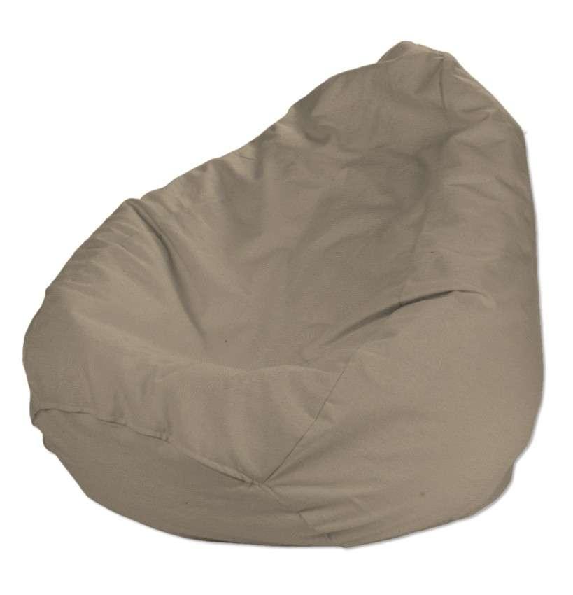 Pokrowiec na worek do siedzenia pokrowiec Ø50x85cm w kolekcji Quadro, tkanina: 136-09