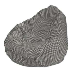 Pokrowiec na worek do siedzenia pokrowiec Ø50x85cm w kolekcji Quadro, tkanina: 136-10
