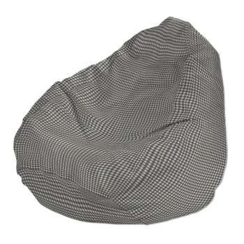 Sėdmaišio užvalkalas  Ø60x105 cm sėdmaišiui kolekcijoje Quadro, audinys: 136-10