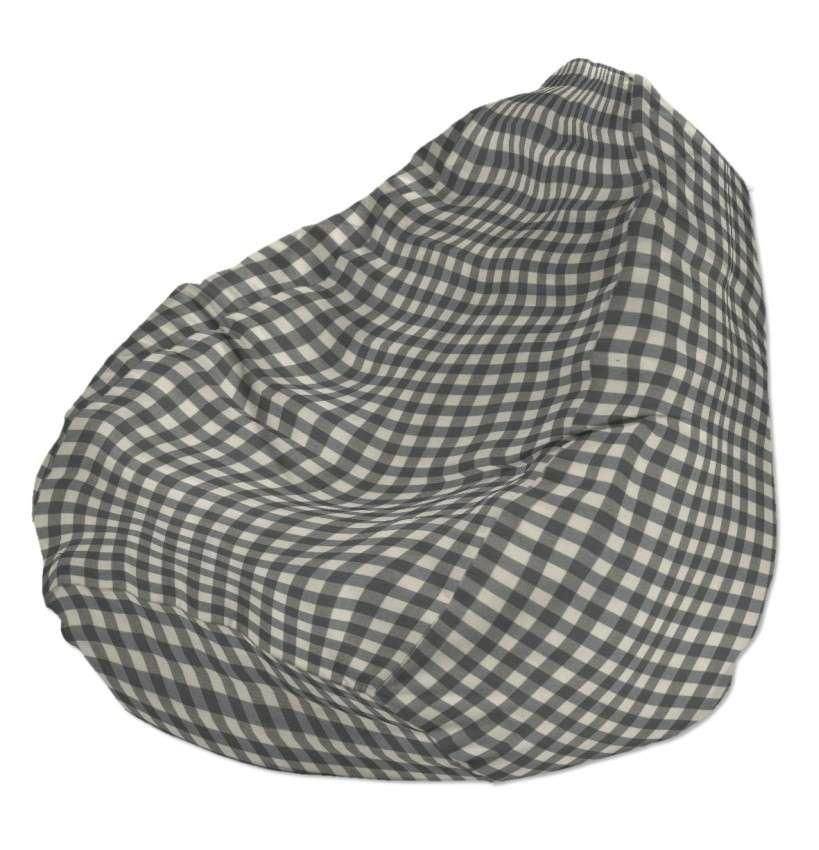 Bezug für Sitzsack Bezug für Sitzsack Ø50x85 cm von der Kollektion Quadro, Stoff: 136-11