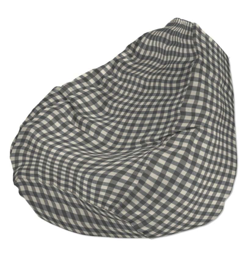 Sėdmaišio užvalkalas  Ø60x105 cm sėdmaišiui kolekcijoje Quadro, audinys: 136-11