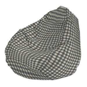 Pokrowiec na worek do siedzenia pokrowiec Ø50x85cm w kolekcji Quadro, tkanina: 136-11