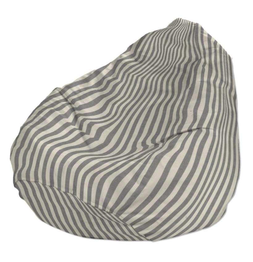 Sėdmaišio užvalkalas  Ø60x105 cm sėdmaišiui kolekcijoje Quadro, audinys: 136-12