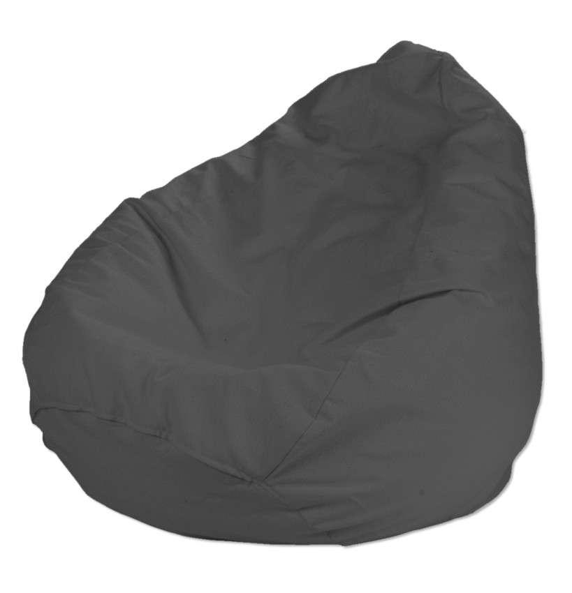 Pokrowiec na worek do siedzenia pokrowiec Ø50x85cm w kolekcji Quadro, tkanina: 136-14