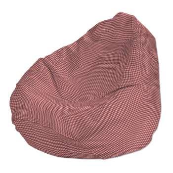 Pokrowiec na worek do siedzenia pokrowiec Ø50x85cm w kolekcji Quadro, tkanina: 136-15