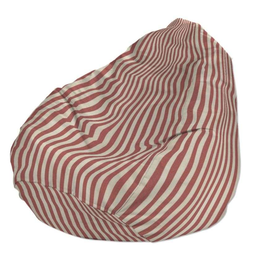 Pokrowiec na worek do siedzenia pokrowiec Ø50x85cm w kolekcji Quadro, tkanina: 136-17