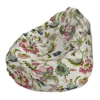 Pokrowiec na worek do siedzenia pokrowiec Ø50x85cm w kolekcji Londres, tkanina: 122-00