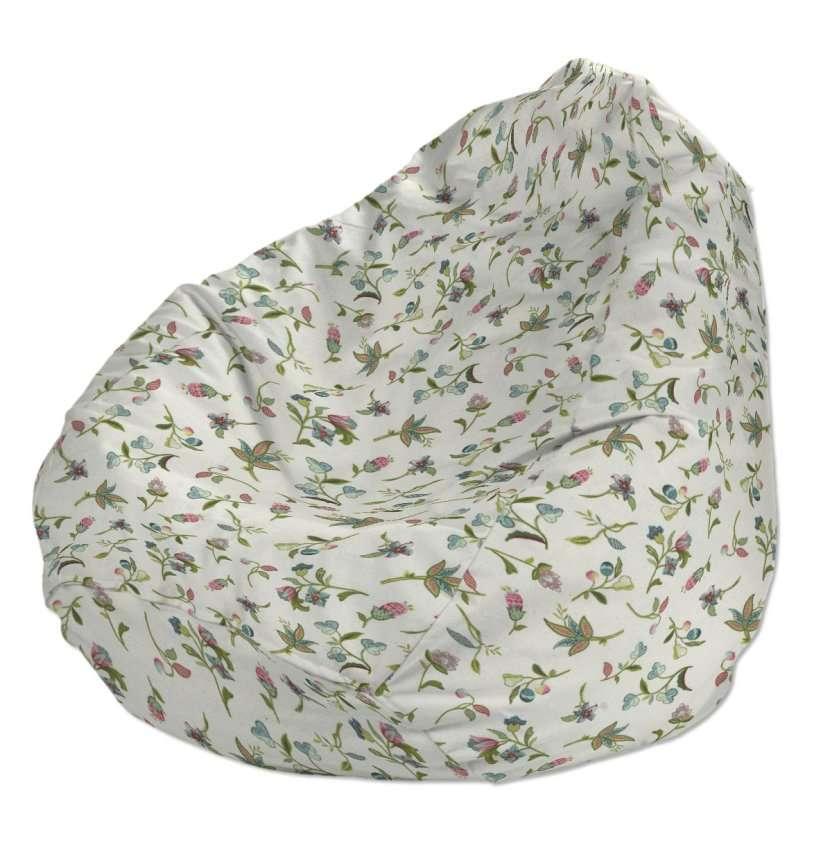 Pokrowiec na worek do siedzenia pokrowiec Ø50x85cm w kolekcji Londres, tkanina: 122-02