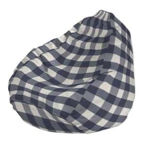 Pokrowiec na worek do siedzenia pokrowiec Ø50x85cm w kolekcji Quadro, tkanina: 136-03