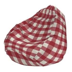 Pokrowiec na worek do siedzenia pokrowiec Ø50x85cm w kolekcji Quadro, tkanina: 136-18
