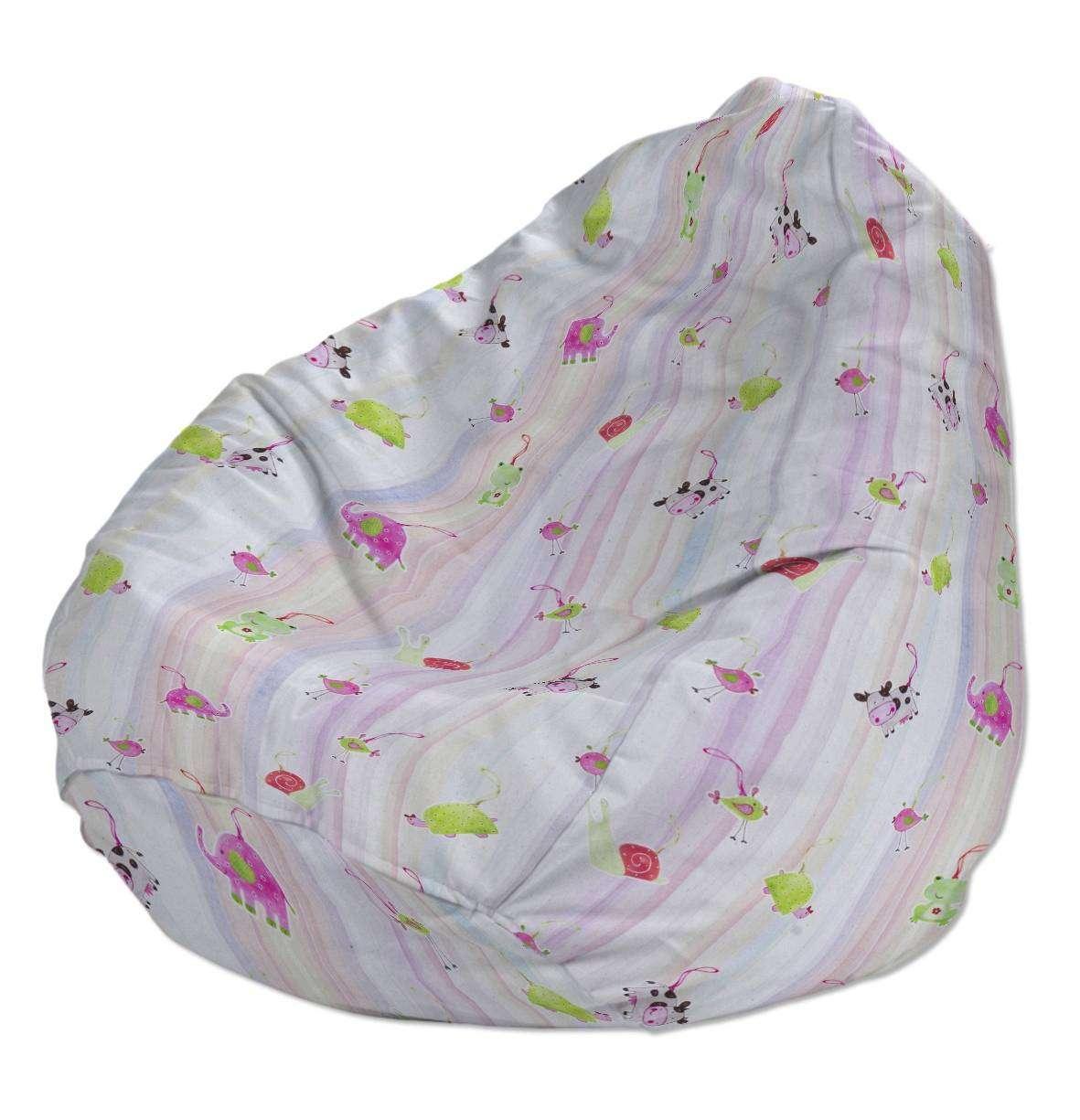 Pokrowiec na worek do siedzenia pokrowiec Ø50x85cm w kolekcji Apanona do -30%, tkanina: 151-05
