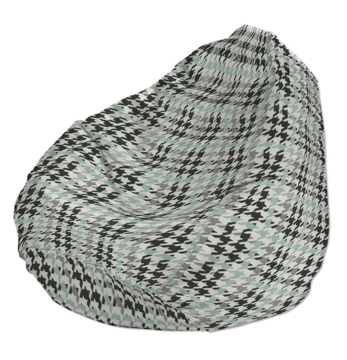 Sėdmaišio užvalkalas  Ø60x105 cm sėdmaišiui kolekcijoje Brooklyn, audinys: 137-77