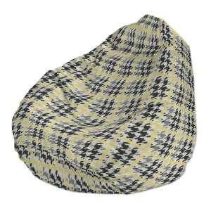 Pokrowiec na worek do siedzenia pokrowiec Ø50x85cm w kolekcji Brooklyn, tkanina: 137-79