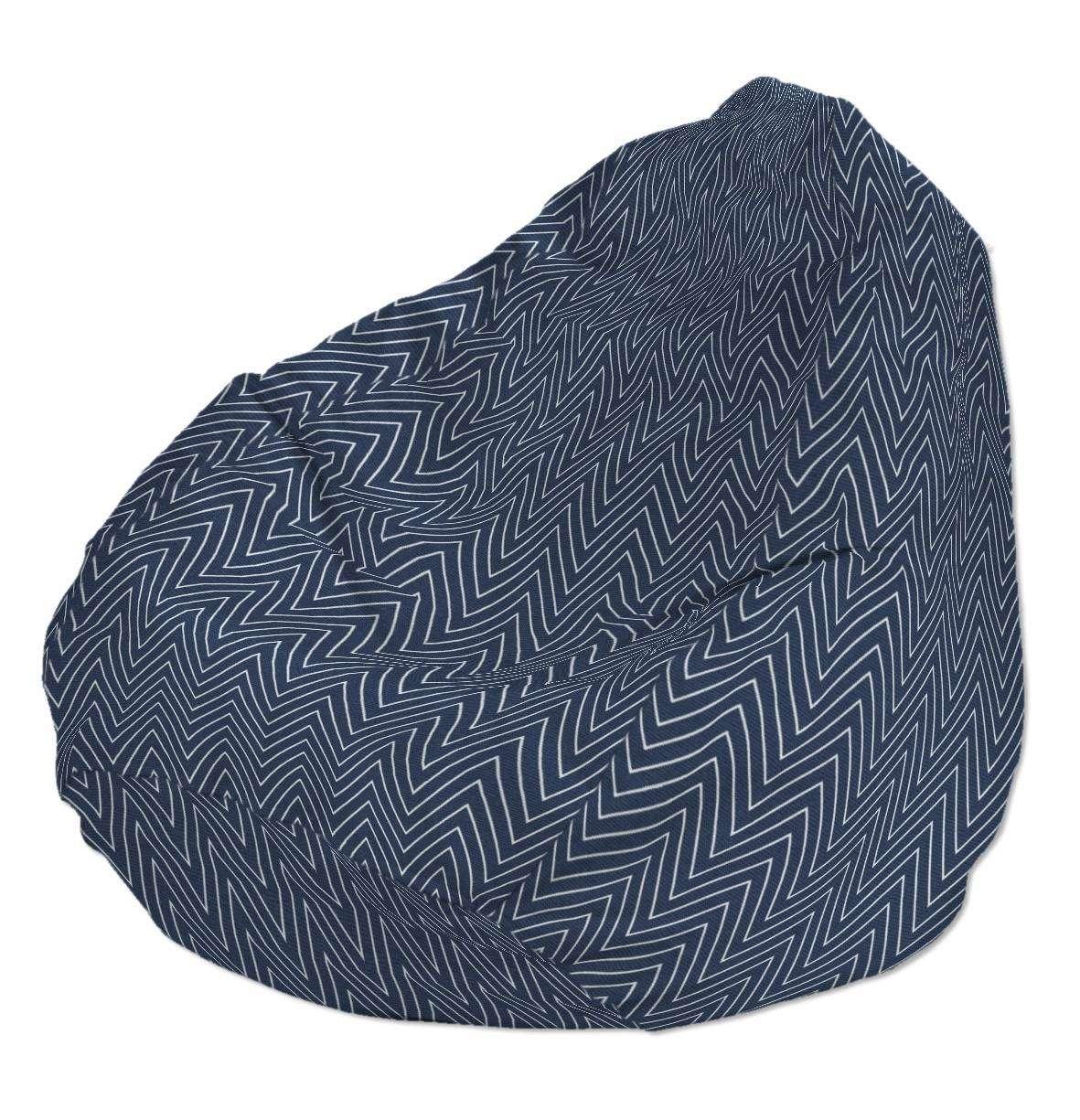 Pokrowiec na worek do siedzenia pokrowiec Ø50x85cm w kolekcji Brooklyn, tkanina: 137-88