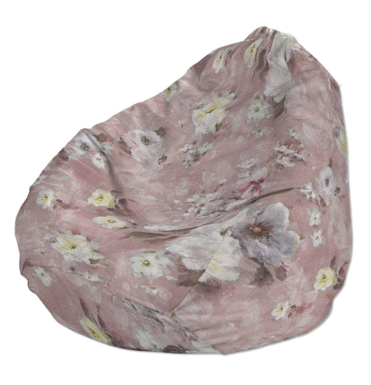 Pokrowiec na worek do siedzenia pokrowiec Ø50x85cm w kolekcji Monet, tkanina: 137-83