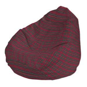 Pokrowiec na worek do siedzenia pokrowiec Ø50x85cm w kolekcji Bristol, tkanina: 126-29