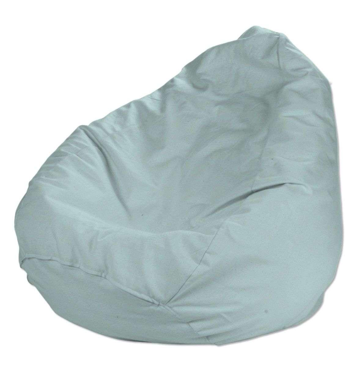Bezug für Sitzsack, hellblau, Bezug für Sitzsack Ø80x115 cm, Cotton Panama | Wohnzimmer > Sessel > Sitzsaecke | Dekoria