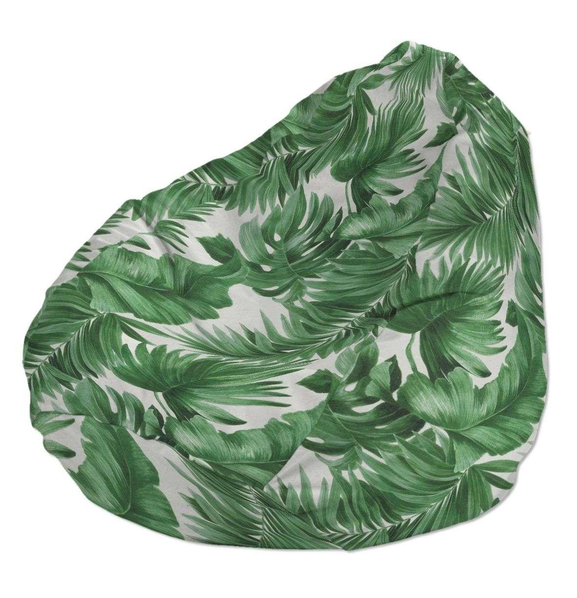 Pokrowiec na worek do siedzenia pokrowiec Ø50x85cm w kolekcji Urban Jungle, tkanina: 141-71
