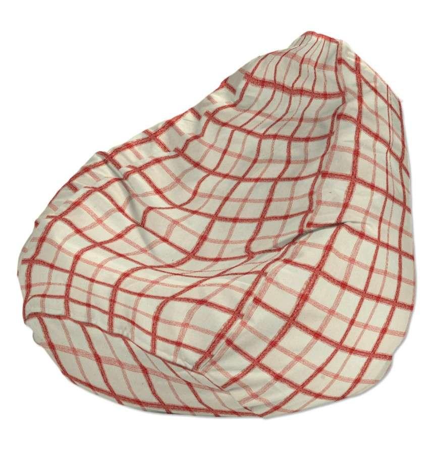 Pokrowiec na worek do siedzenia pokrowiec Ø50x85cm w kolekcji Avinon, tkanina: 131-15