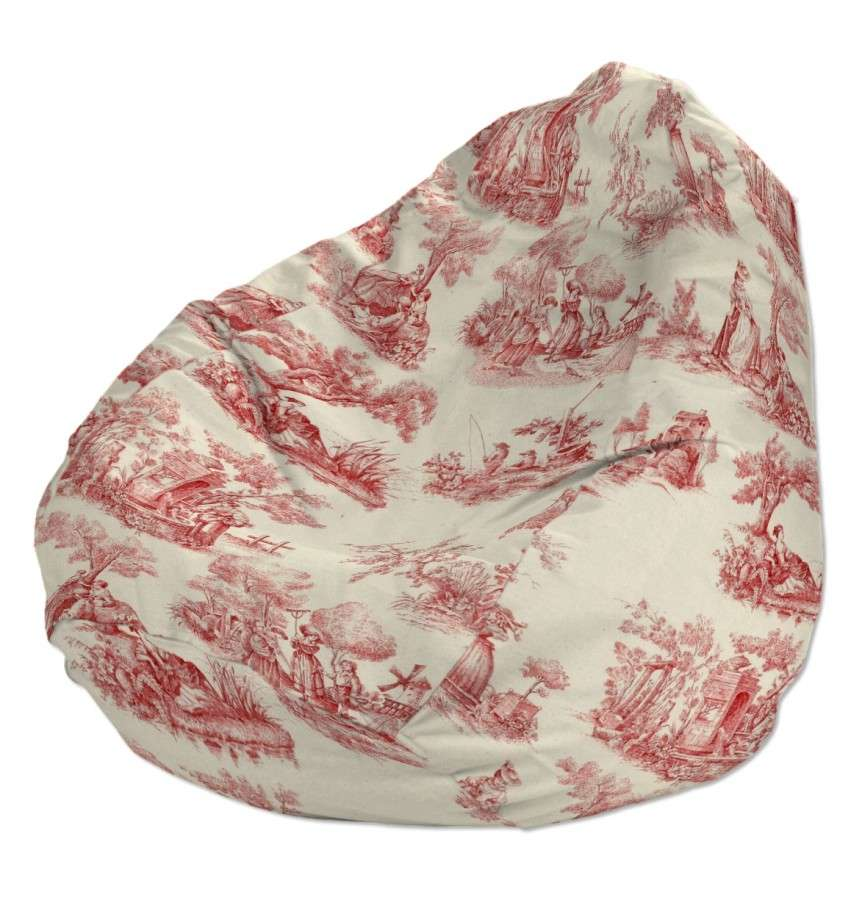 Pokrowiec na worek do siedzenia pokrowiec Ø50x85cm w kolekcji Avinon, tkanina: 132-15