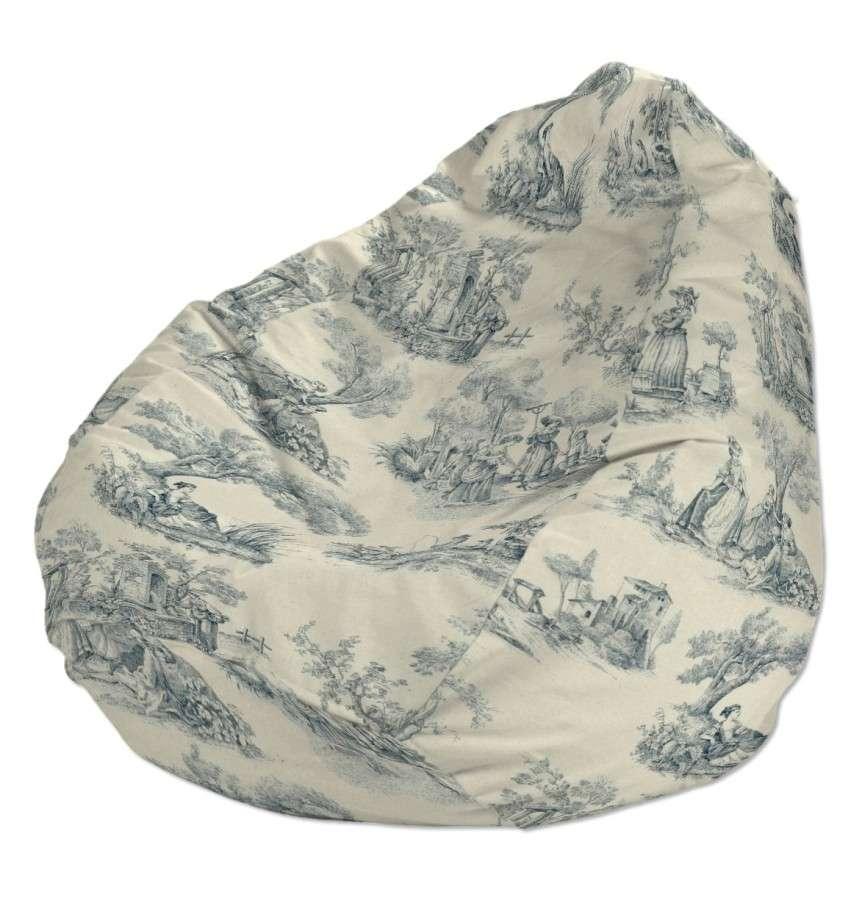 Sėdmaišio užvalkalas  Ø60x105 cm sėdmaišiui kolekcijoje Avinon, audinys: 132-66