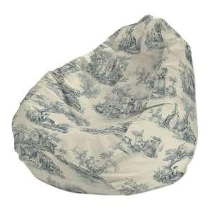 Pokrowiec na worek do siedzenia pokrowiec Ø50x85cm w kolekcji Avinon, tkanina: 132-66