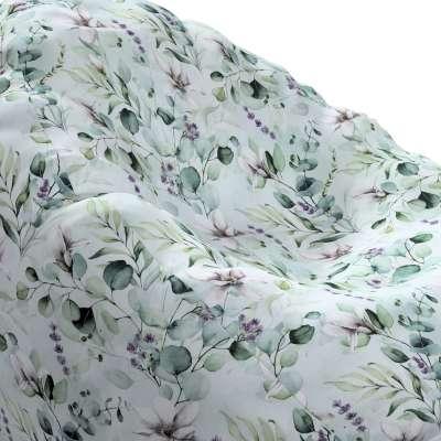Trekk til sekkestol 143-66 Naturhvit med pint Magnolie Kolleksjon Flowers