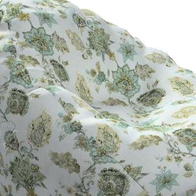 Pokrowiec na worek do siedzenia 143-67 kwiaty na beżowo - szarym tle Kolekcja Flowers