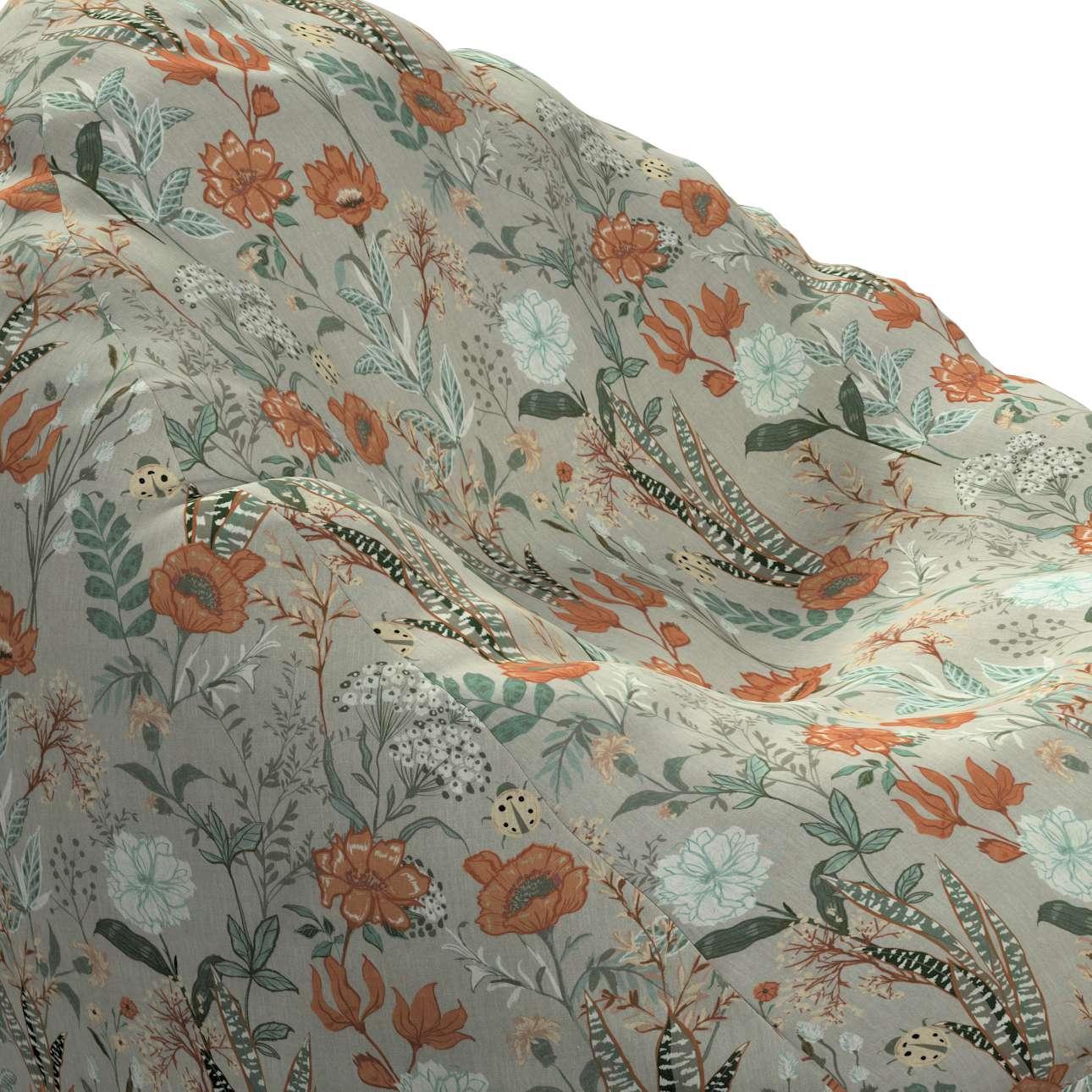 Bezug für Sitzsack von der Kollektion Flowers, Stoff: 143-70