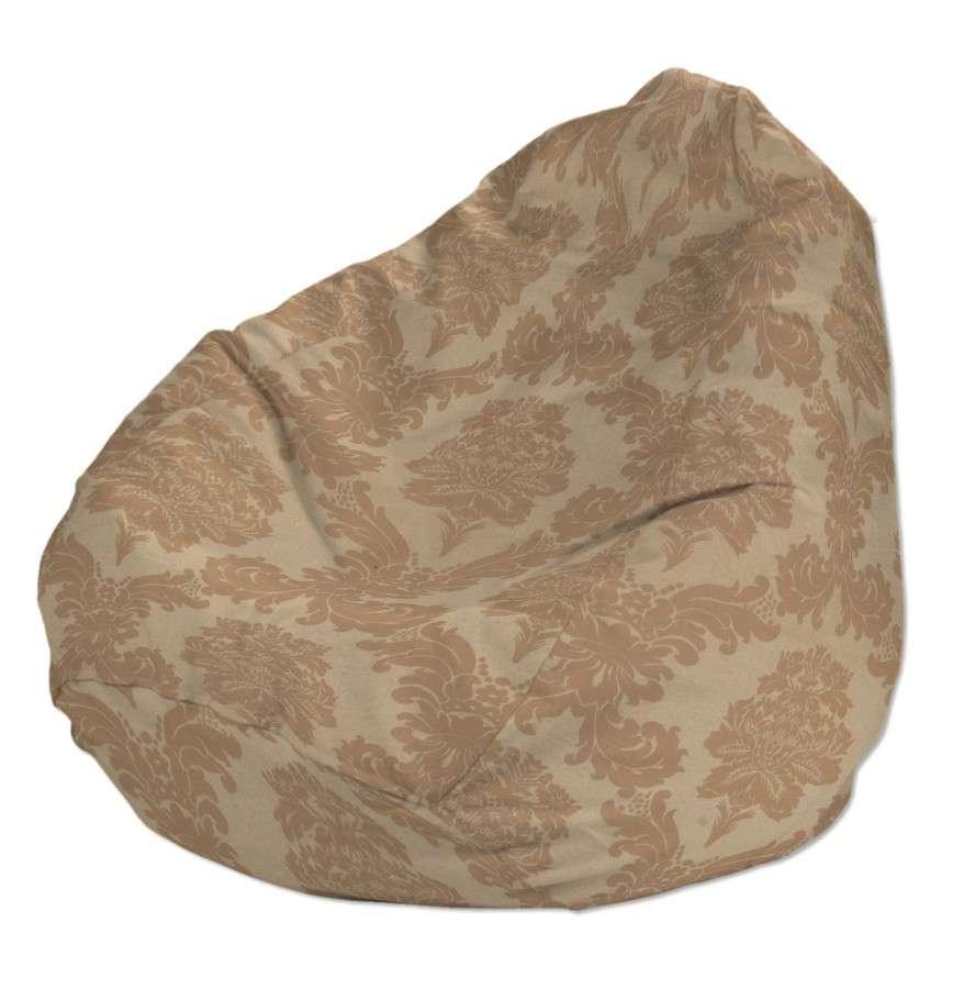 Pokrowiec na worek do siedzenia pokrowiec Ø50x85cm w kolekcji Damasco, tkanina: 613-04