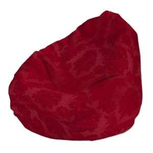 Pokrowiec na worek do siedzenia pokrowiec Ø50x85cm w kolekcji Damasco, tkanina: 613-13