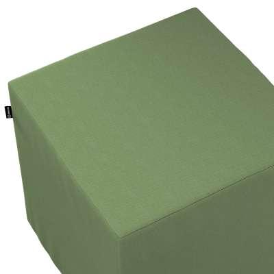 Pokrowiec na pufę kostkę 127-52 zgaszona zieleń Kolekcja Jupiter