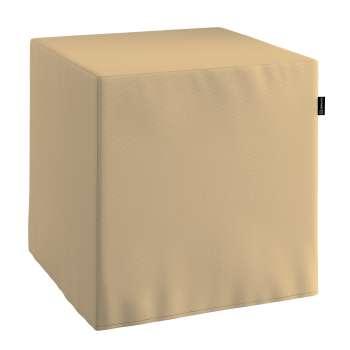 Pufo užvalkalas 40x40x40 cm kubas kolekcijoje Cotton Panama, audinys: 702-01