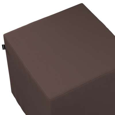 Bezug für Sitzwürfel 702-03 Kaffee Kollektion Cotton Panama