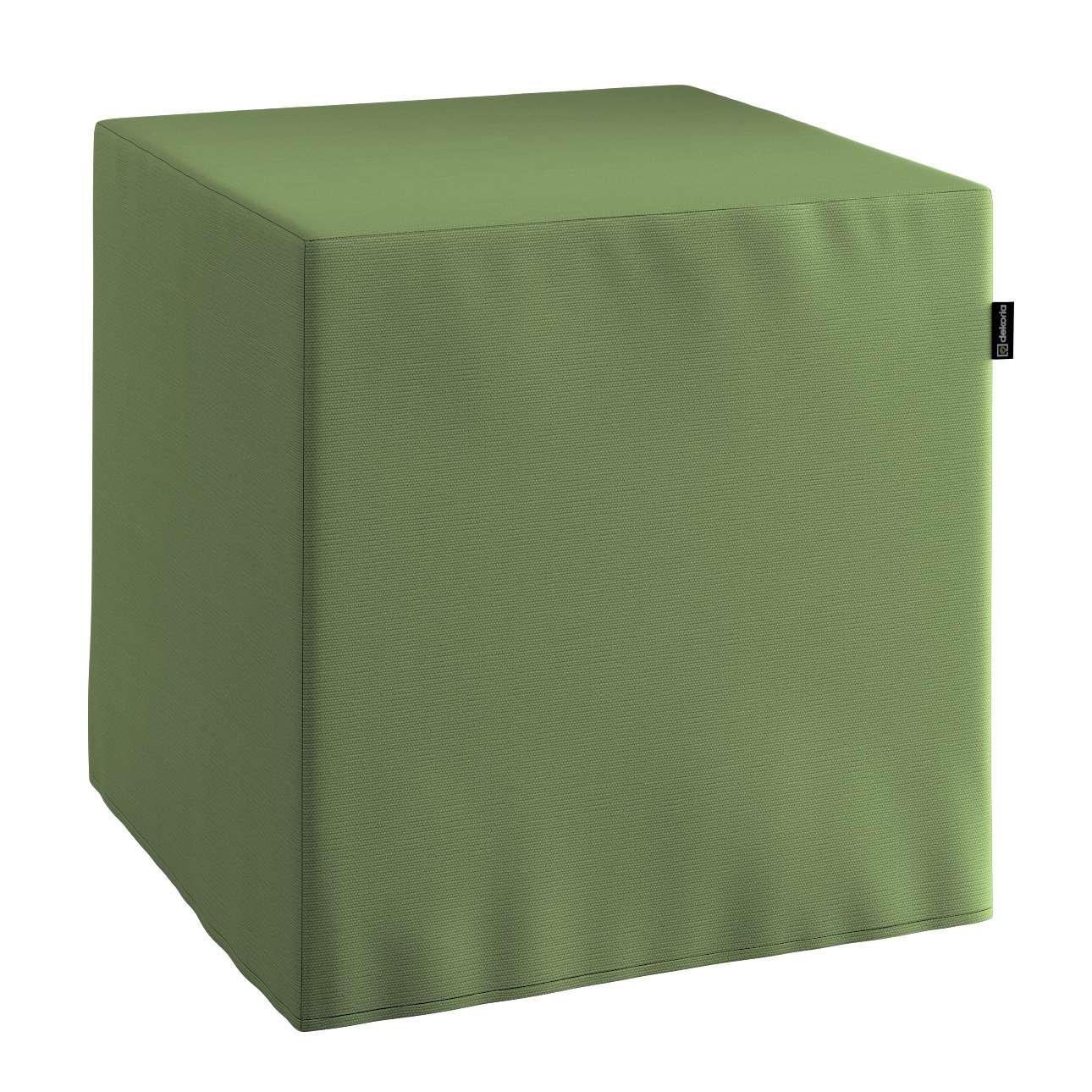 Bezug für Sitzwürfel Bezug für Sitzwürfel 40x40x40 cm von der Kollektion Cotton Panama, Stoff: 702-06