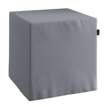 Bezug für Sitzwürfel Bezug für Sitzwürfel 40x40x40 cm von der Kollektion Cotton Panama, Stoff: 702-07