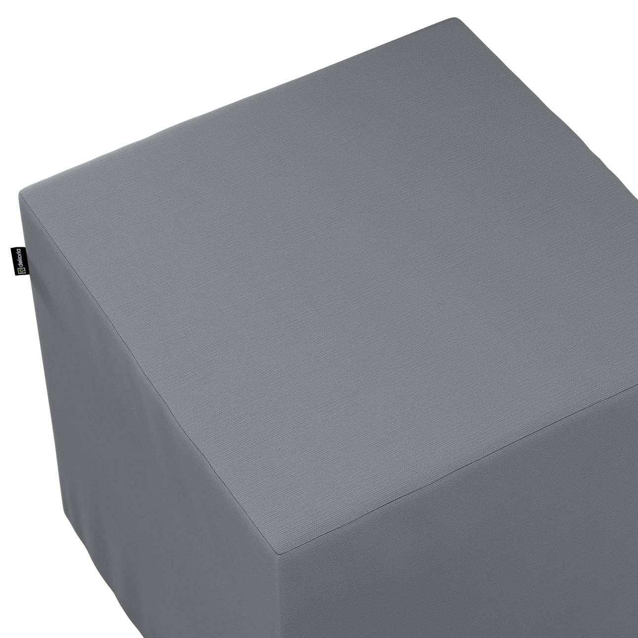 Bezug für Sitzwürfel von der Kollektion Cotton Panama, Stoff: 702-07