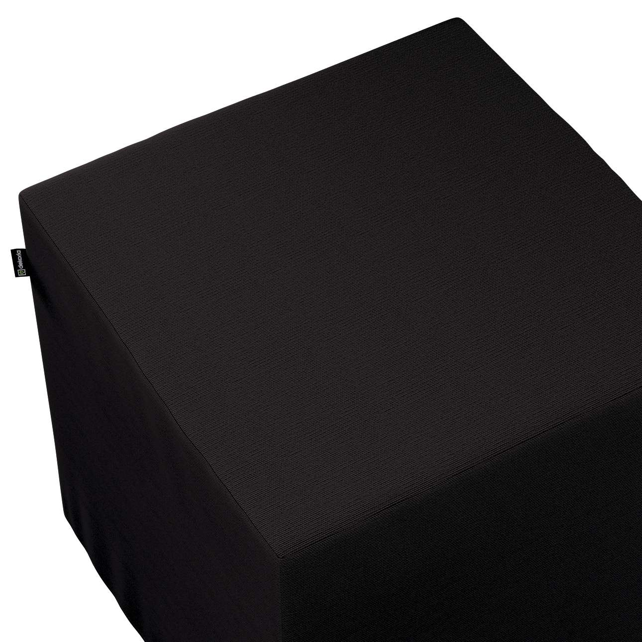Bezug für Sitzwürfel von der Kollektion Cotton Panama, Stoff: 702-08